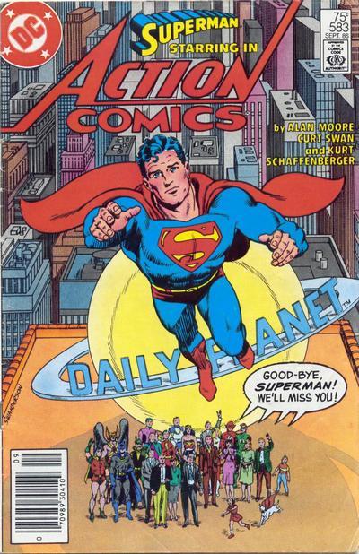 que dibujante de superman te fascina mas? Swan2010
