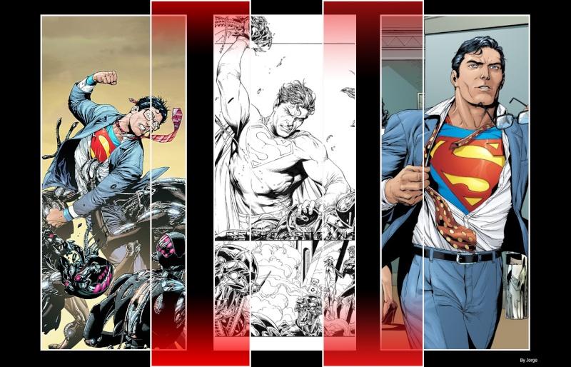 que dibujante de superman te fascina mas? Diseao10
