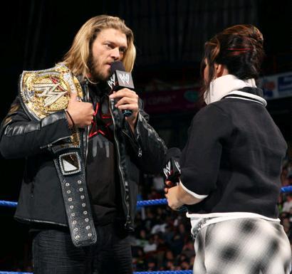 La Ceinture du Champion de la WWE Edge10