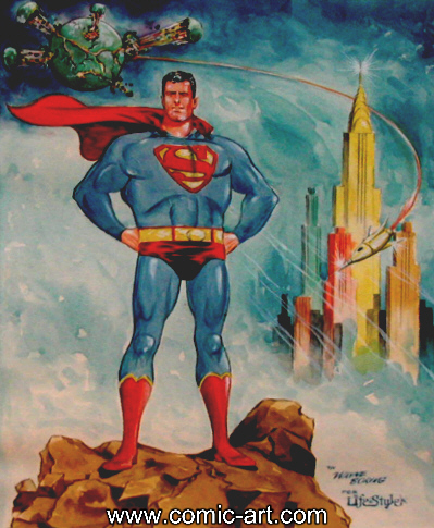 que dibujante de superman te fascina mas? Boring11