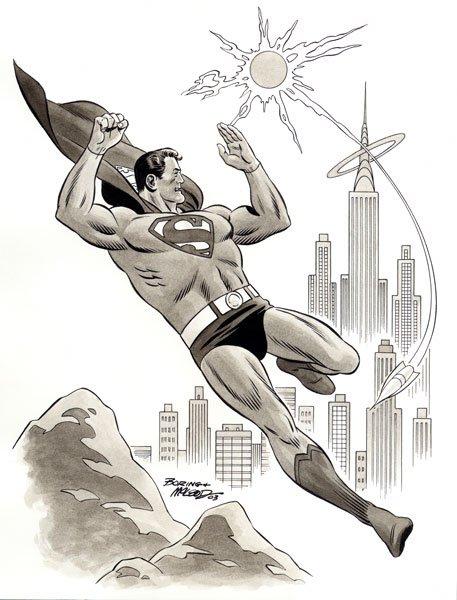 que dibujante de superman te fascina mas? Boring13