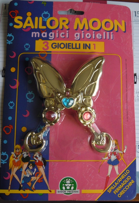 oggetti sailor moon bandai Gioiel10