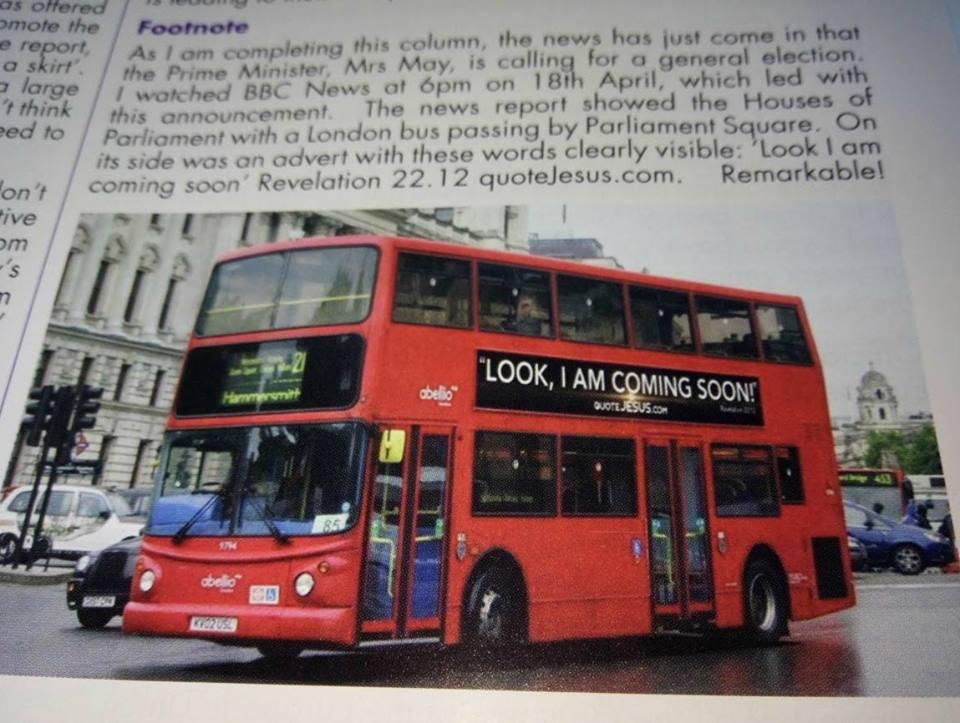 "HOWARD CONDOR The Revelation TV Bus Campaign ""QUOTE JESUS"" TALK GOD  18341810"