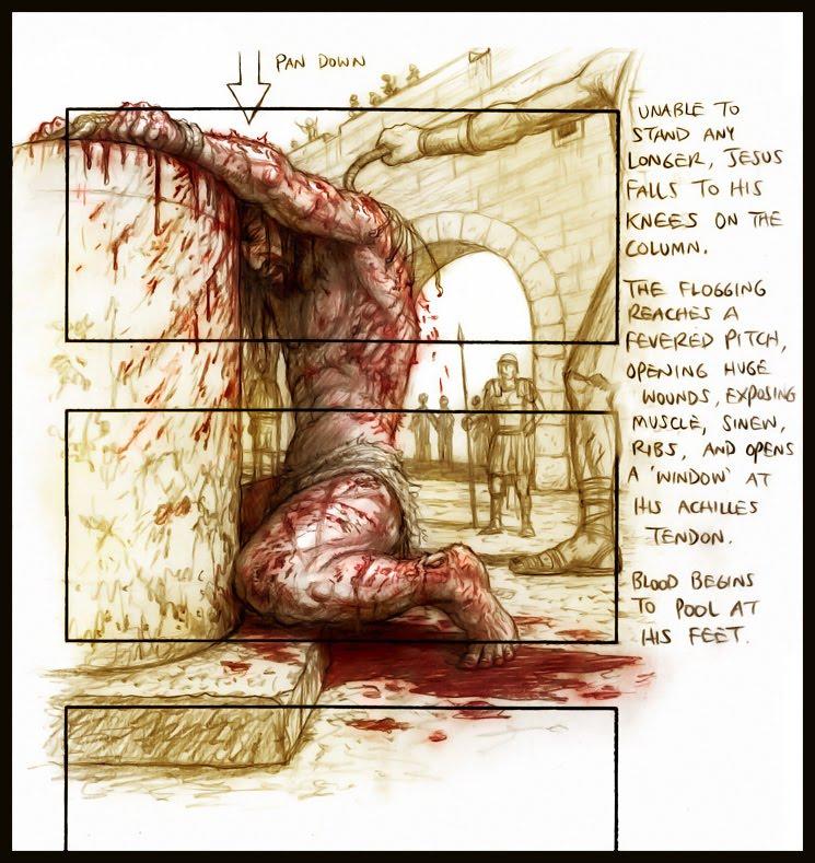THE SUFFERING SERVANT-ON THE ROMAN CROSS. Floggi10