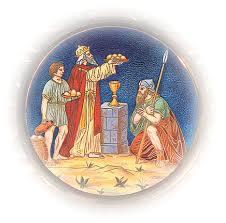 Malchi-Zedek, king of Salem Gen14m10