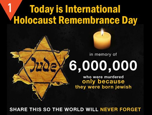 The memory of the Holocaust will fade if you stay silent Holoca11
