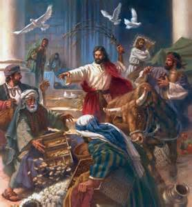 The Lord's Anger: 4 Times Jesus Did Not 'Turn the Other Cheek' Jesusi10