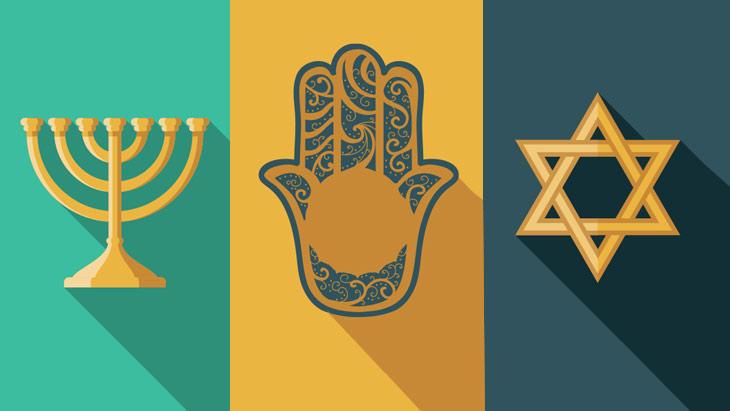 9 Common Jewish Symbols And the history  Jewish12