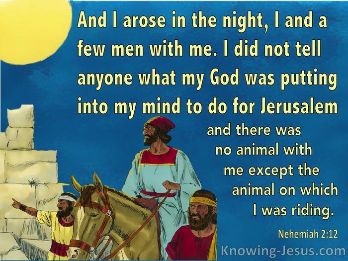 A Personal Commitment: Nehemiah 8 Building the walls- Ezra Scroll Declaration Nehemi12