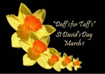 Good Morning Happy St. Davids Day~ Bore Da! Hapis Dydd Gŵyl Dewi Stdavi10