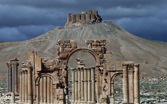 Syria Palmyra play in New World Order  Syria_11