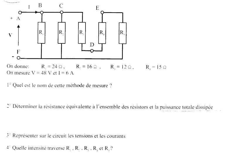 Méthode de mesure Devoir10