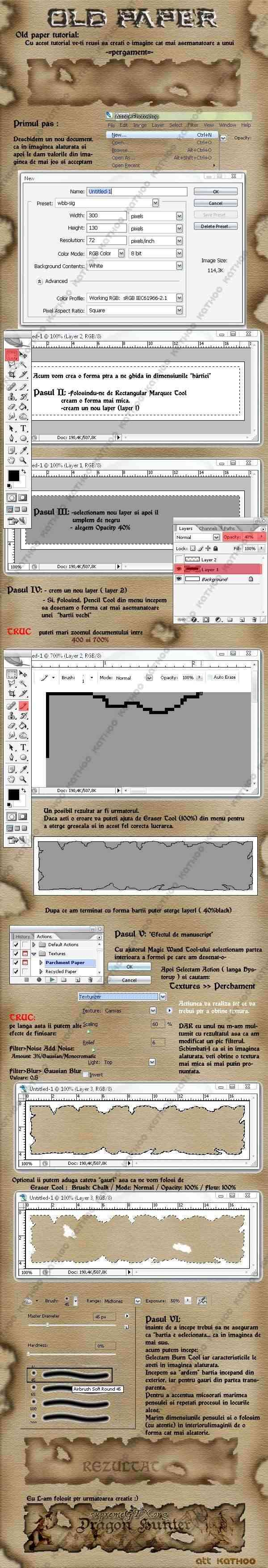 Tutorial Old Paper Old_pa10