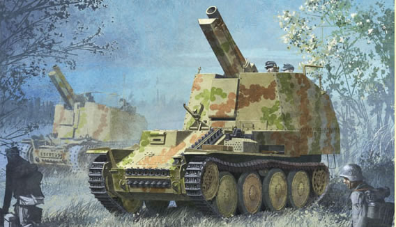 Tancred : Geschutzwagen 38 M fur s.IG. 33/2 6429-p10