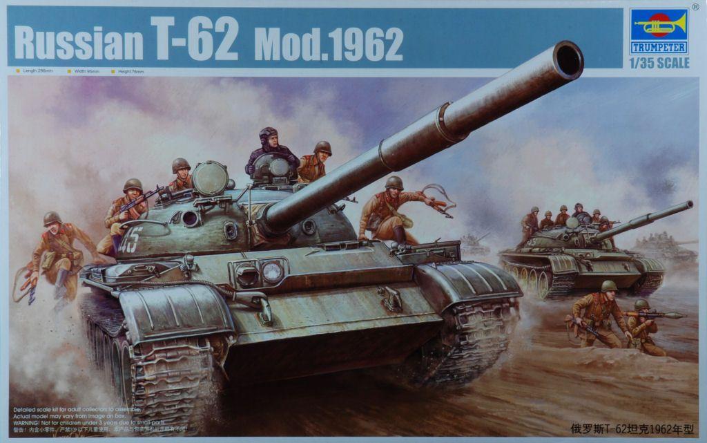 Russian T-62 Model 1962 Trumpt10