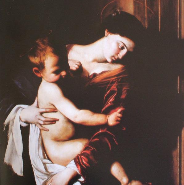 Caravaggio - Madonna di Loreto (Madonna Dei Pellegrini) 0310