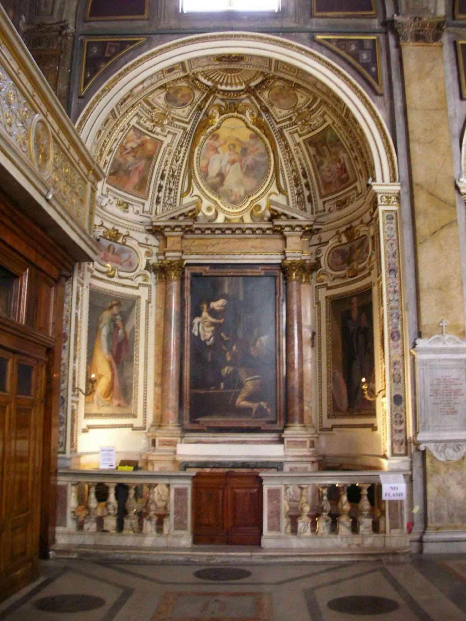 Caravaggio - Madonna di Loreto (Madonna Dei Pellegrini) 1122-p10