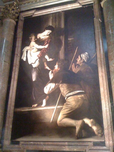 Caravaggio - Madonna di Loreto (Madonna Dei Pellegrini) 49343510
