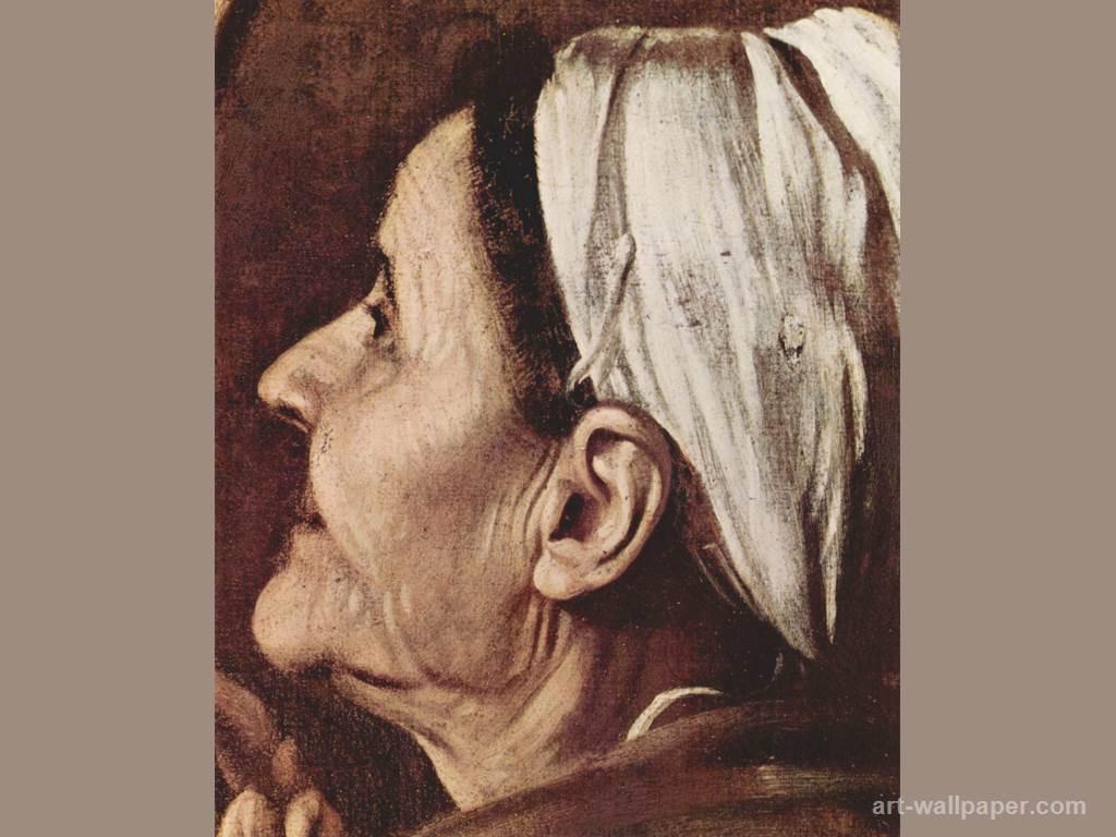 Caravaggio - Madonna di Loreto (Madonna Dei Pellegrini) Madonn10