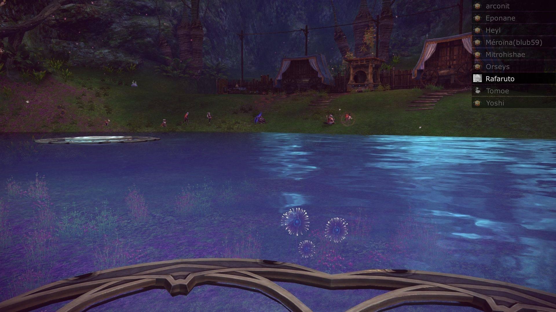 Event de Yoshida et Mïtrohïshae screenshot du saut moutons Tera_s13
