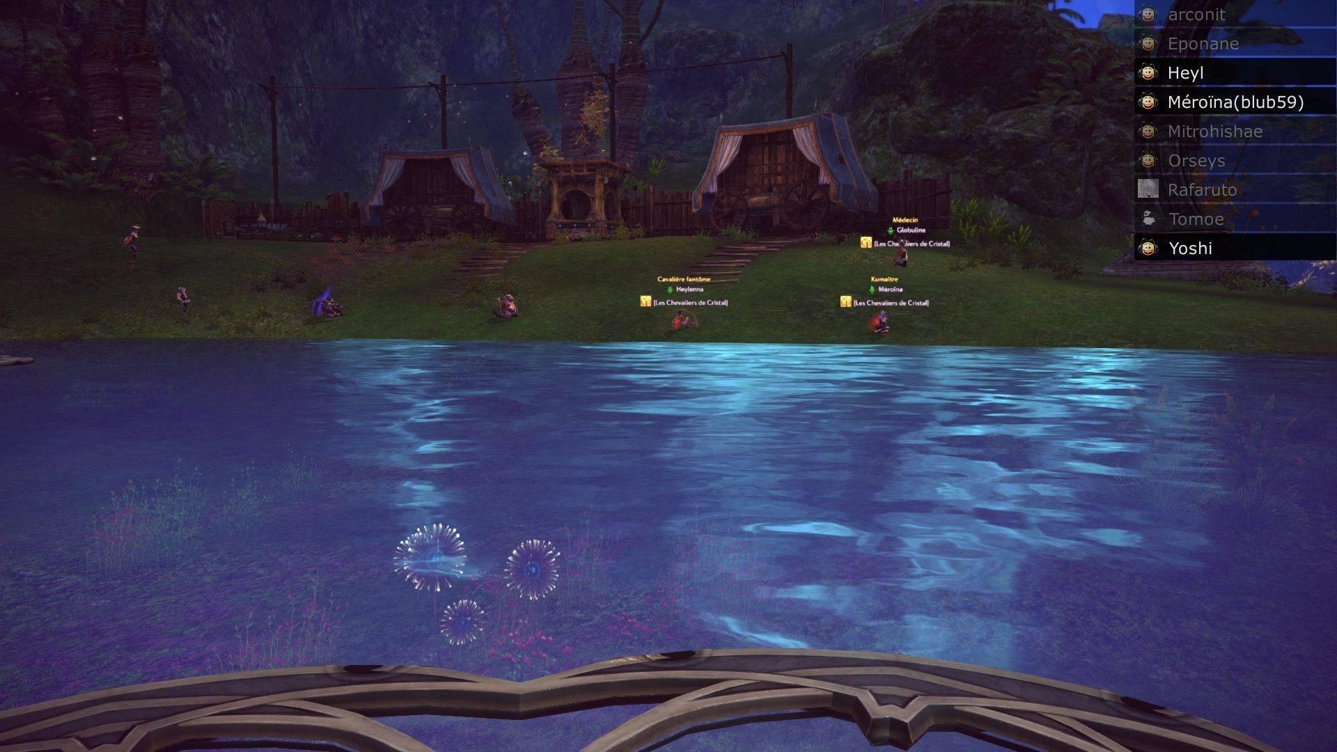 Event de Yoshida et Mïtrohïshae screenshot du saut moutons Tera_s14