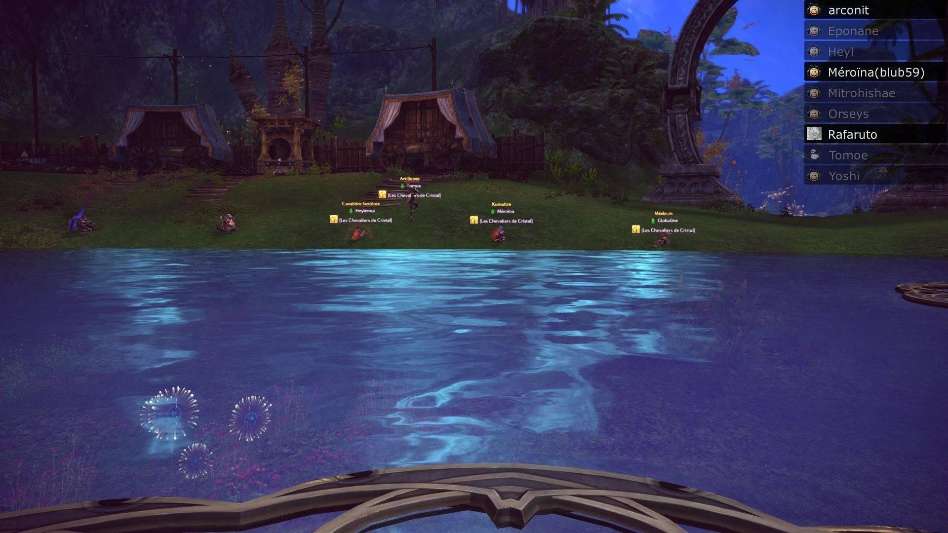 Event de Yoshida et Mïtrohïshae screenshot du saut moutons Tera_s15