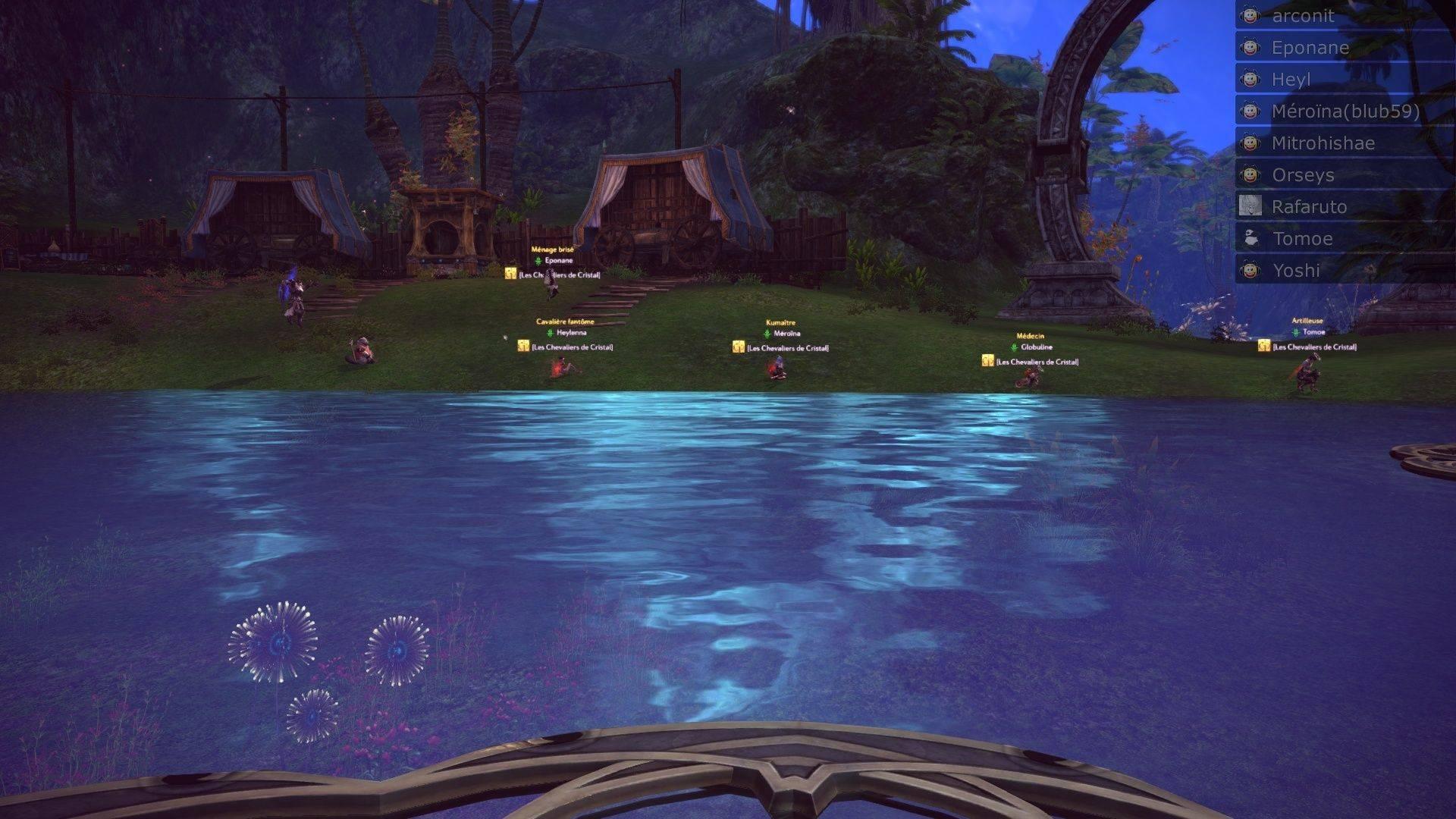 Event de Yoshida et Mïtrohïshae screenshot du saut moutons Tera_s16