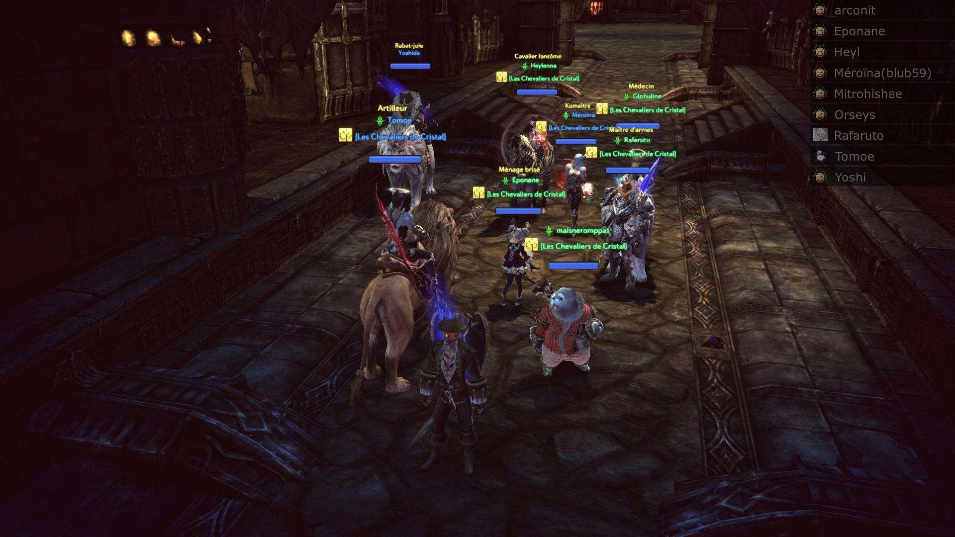 Event de Yoshida et Mïtrohïshae screenshot du saut moutons Tera_s20