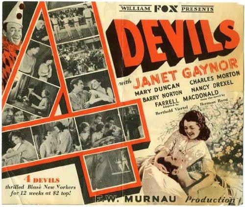 1928 - The  4 devils (lost movie of FW Murnau) Mv5bnz10