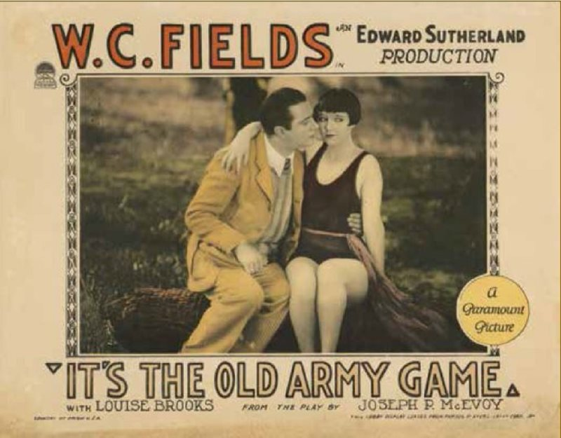 1926 - It's the old army game  Oag_po10
