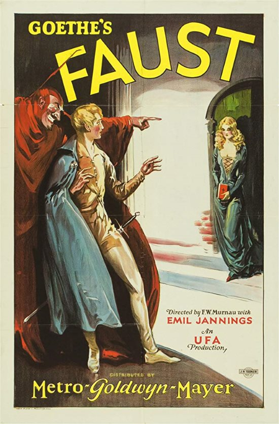 1926 - Faust  Poster13