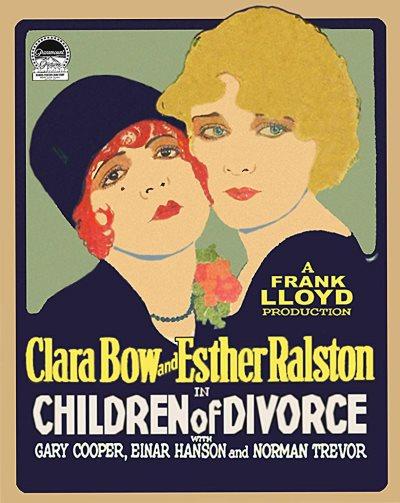 1927 - Children of divorce Poster20