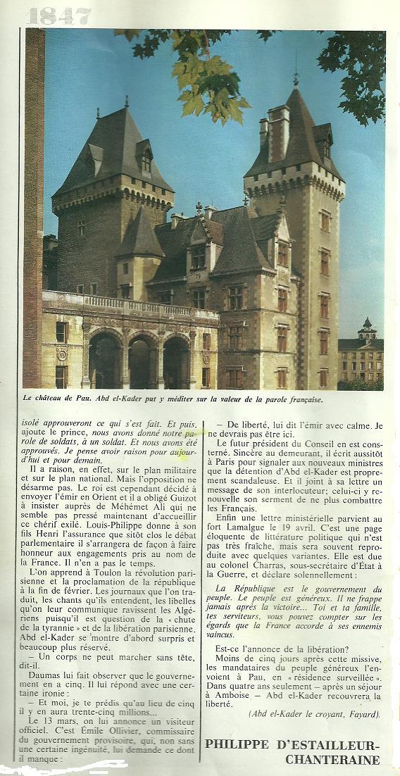 Emir Abdelkader ibn Mohieddine…El Hachemi - Page 5 Abdelk18