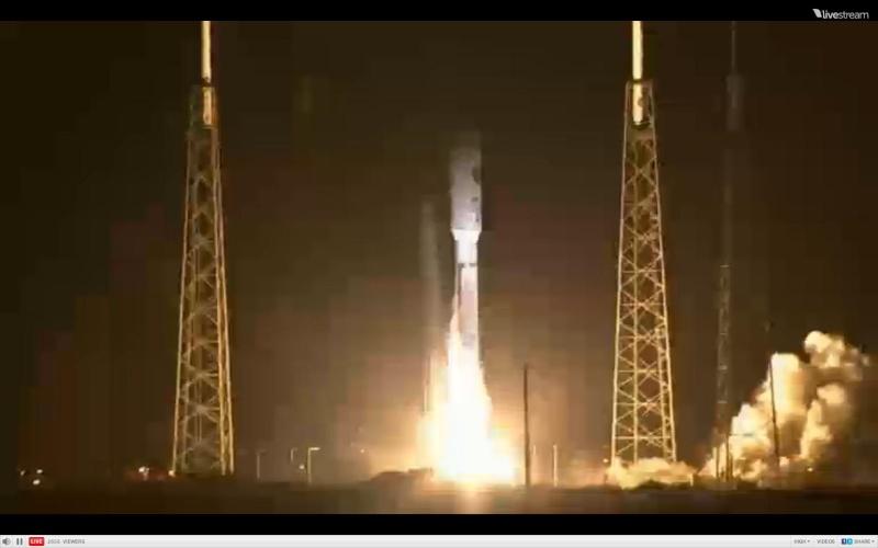 Atlas V 531 (AEHF-3) - 18.9.2013 Scree211