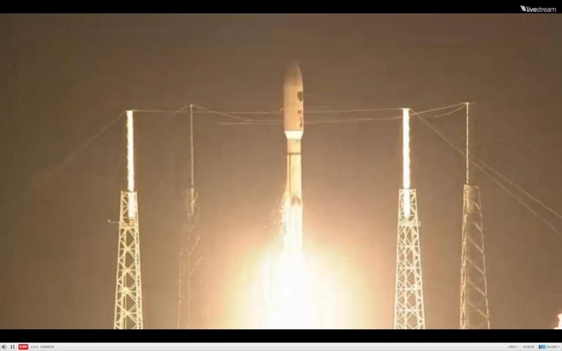 Atlas V 531 (AEHF-3) - 18.9.2013 Scree212