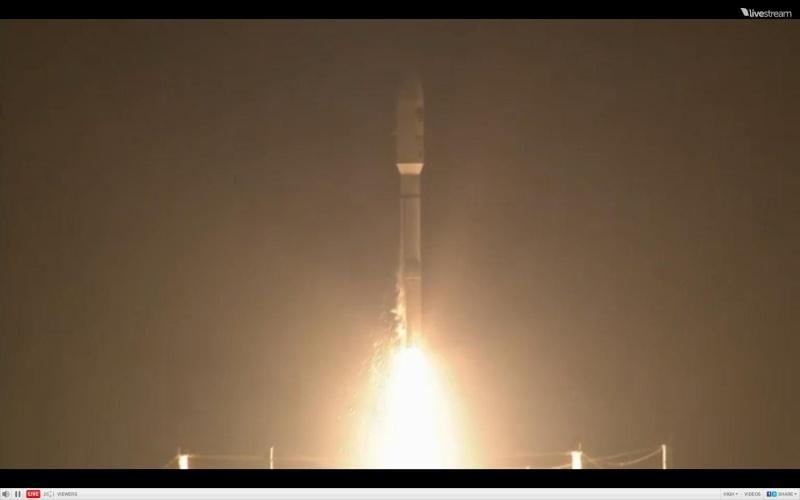 Atlas V 531 (AEHF-3) - 18.9.2013 Scree213