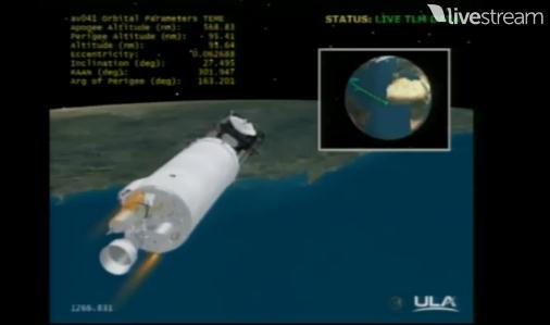 Atlas V 531 (AEHF-3) - 18.9.2013 Scree218