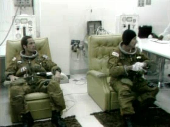 Salle de préparation pour STS 1 - Diorama Screen34
