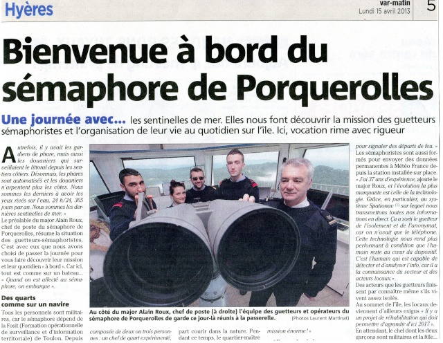 SÉMAPHORE - PORQUEROLLES (VAR) Porque10