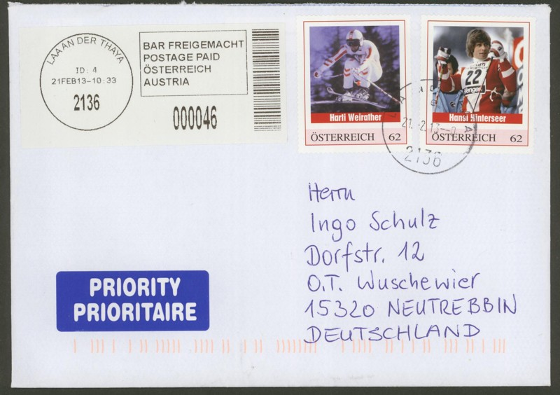 Sammlung Bedarfsbriefe Österreich ab 1945 - Seite 4 03_laa10
