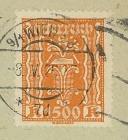 Inflation in Österreich - Belege - 1918 bis 1925 393_0811