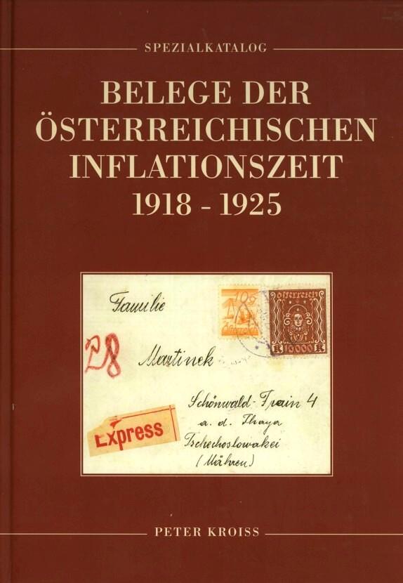 Inflation in Österreich - Belege - 1918 bis 1925 Handbu10