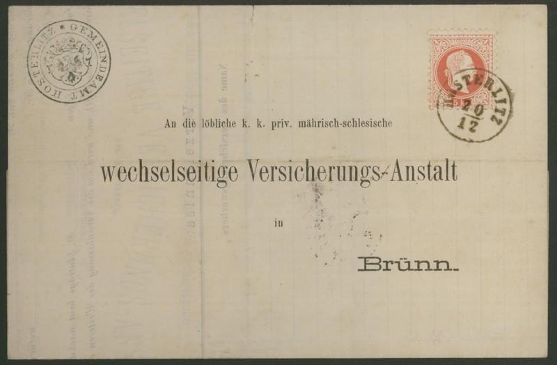 Freimarken-Ausgabe 1867 : Kopfbildnis Kaiser Franz Joseph I - Seite 2 Hoster11