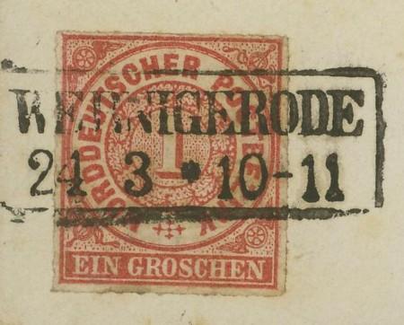 Norddeutscher Postbezirk Mi_4_211