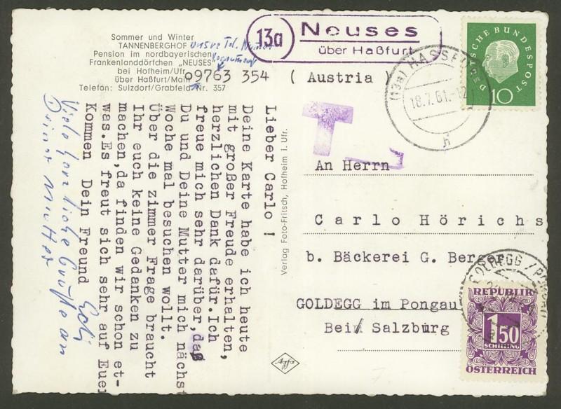 1945 - Portomarken Österreich 1945 - 1989 Neuses10