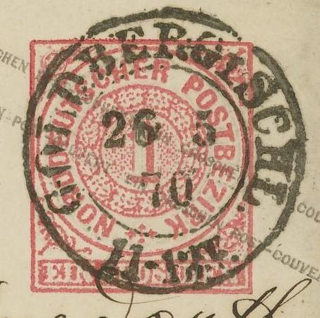 Norddeutscher Postbezirk U_1_a_11