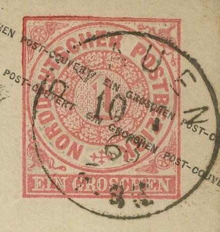 Norddeutscher Postbezirk U_1_b_11