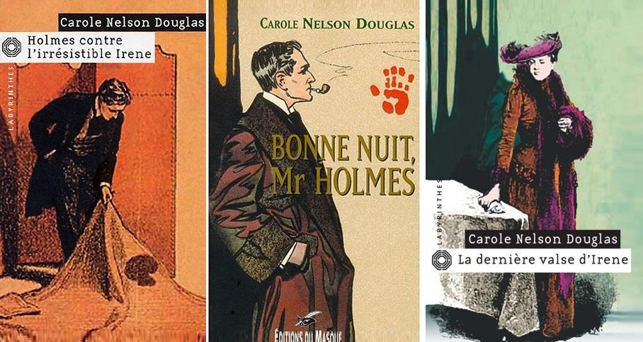 Sherlock Holmes en pastiches, romans, essais... - Page 7 Irene10