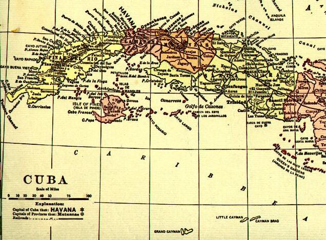 Oblitérations Cubaines .... Cuba1910