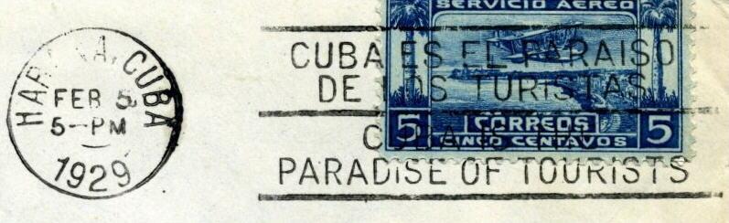 Oblitérations Cubaines .... Cubapa10
